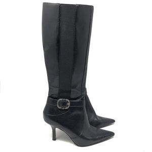 Anne Klein Tall Leather Boots